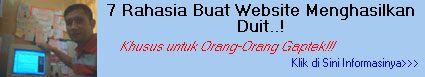 7 Rahasia Website Pemula