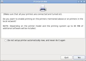 Printerdrake