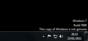 This copy of Windows is not genuine