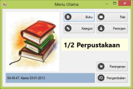 Aplikasi Perpustakaan v0.5