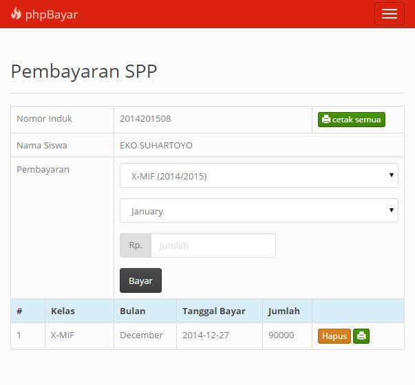 phpbayar: Aplikasi Pembayaran berbasis PHP